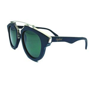 Black Wood Metal Sunglasses, G15 Polarized Lenses